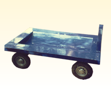 Denim Cloth Roll Trolley